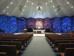 Inside of SST. Peter and Paul Church in Cary, IL