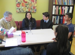 8th grade interviews for web