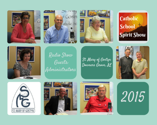 St. Mary of Gostyn collage of Admins on CSS radio show 2015