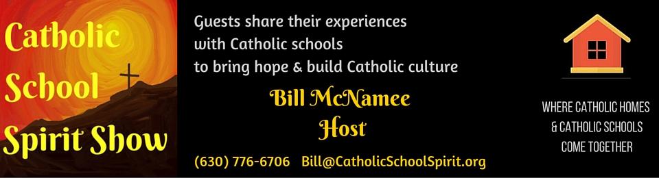 Catholic School Spirit Show banner