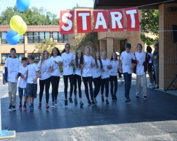 8th+grd+start+to+walk+a+thon