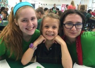 After school party with buddies St. Bridget
