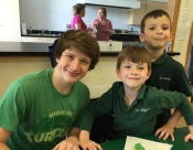 boys after school party with buddies St. Bridget