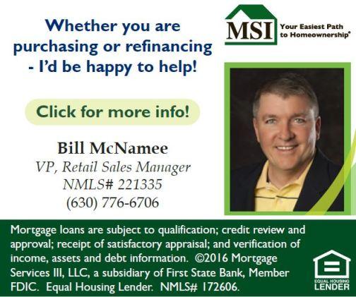 screen shot Capture of Bill McNamee ad MSI